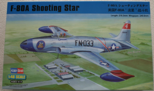 Hobbyboss 1/48 81723 Lockheed F-80A Shooting Star
